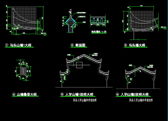 某徽式住宅建筑方案施工图设计[原创]图片