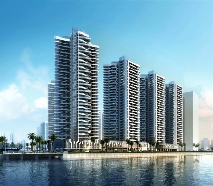 某现代风格高层住宅建筑设计方案 SU模型