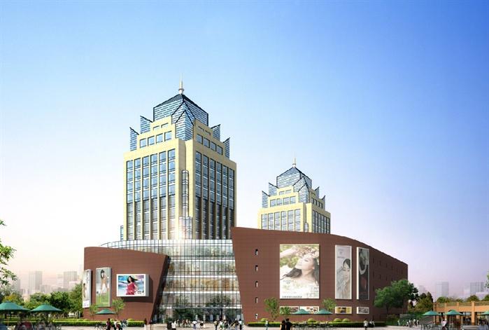某现代风格酒店建筑设计方案