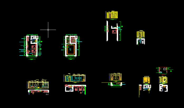 某酒店方案设计CAD平面图