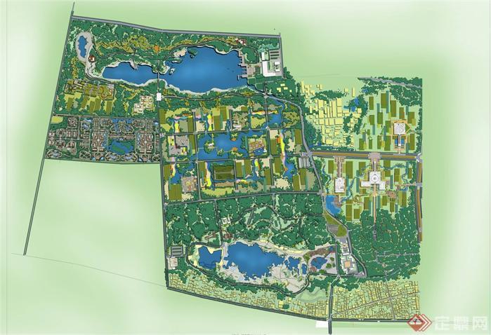 中国羊山古镇旅游度假区片区景观规划设计方案整套ppt文本