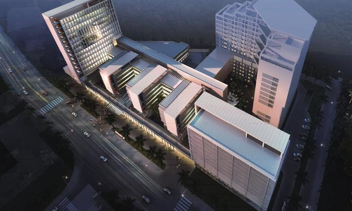 某现代风格医院设计效果图