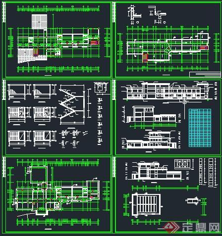 某幼儿园建筑设计方案图+施工图