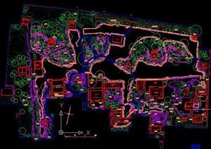 苏州五大古典园林的CAD总平面图