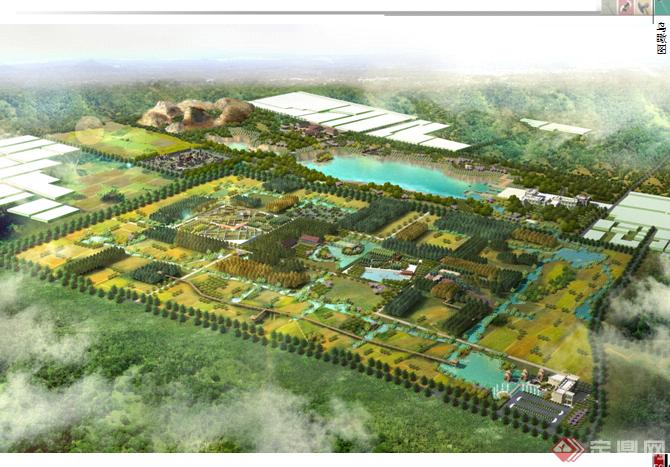 中国某古镇旅游度假区片区景观规划设计方案整套ppt文本[原创]