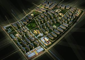 洛阳某城市建设规划总图