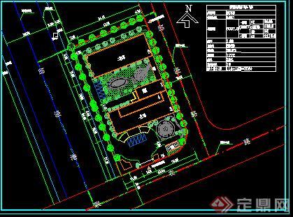 某工业区敬老院建筑设计方案(含cad平面图,效果图)图片