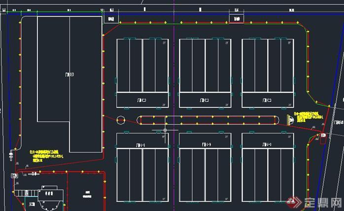 某商业街建筑设计总图(3)