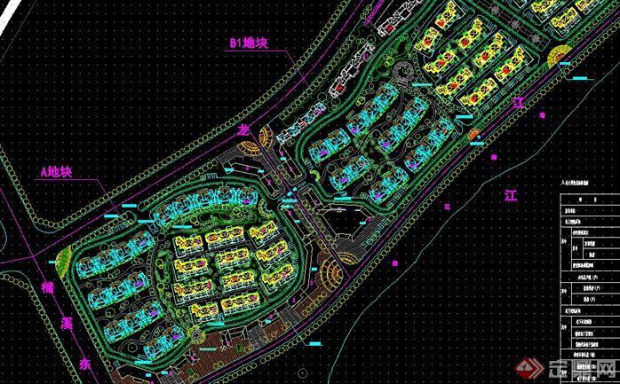 江西某欧式住宅小区+商业街建筑设计方案(含su模型)