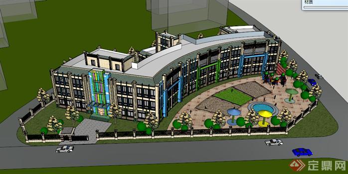 幼儿园方案设计_建筑设计图片