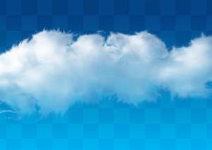 透明云朵云层素材效果图PSD分层素材19