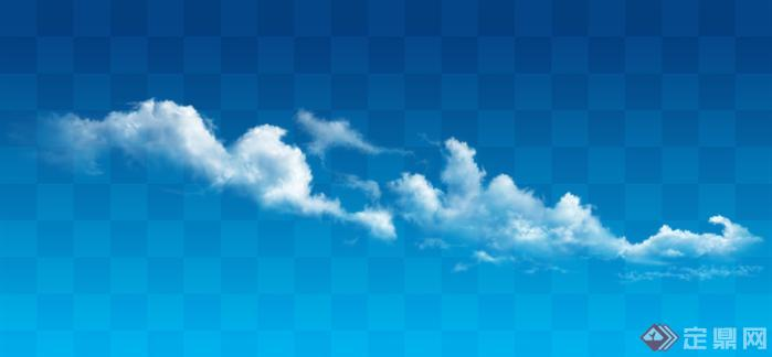 透明云朵云层素材效果图psd素材