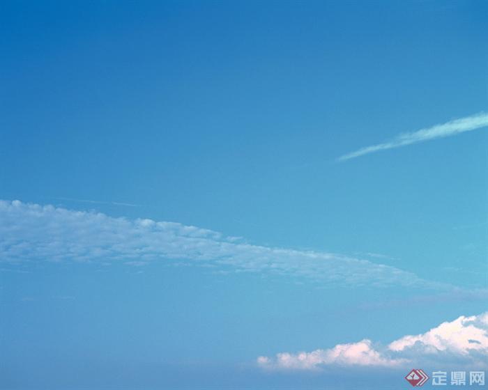 一张天空云层jpg效果图素材