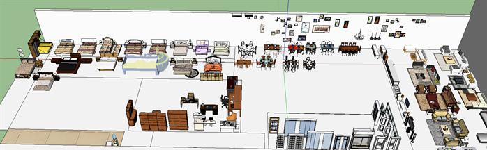 室内装饰常用素材su模型(3)