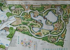 某公园景观规划快题设计方案