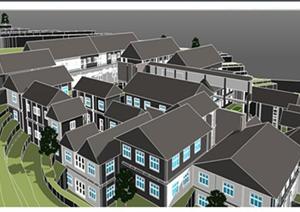 某山地旅馆建筑设计方案