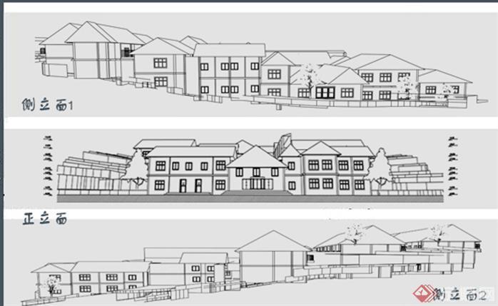 某山地旅馆建筑设计方案[原创]图片