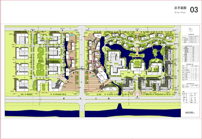 某現代風格辦公創意產業園景觀規劃設計全套文本方案