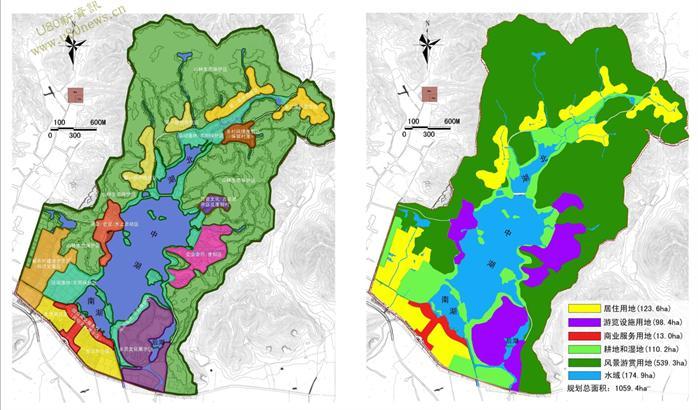 某湖泊景区总体规划设计方案