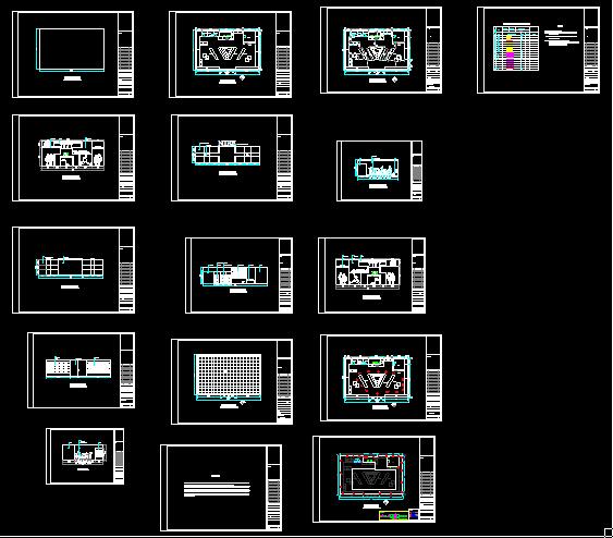 NIKE专卖店设计方案-160平-16张CAD图及4张效果图(1)