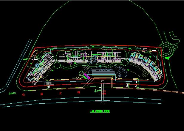 高层住宅连廊设计图展示