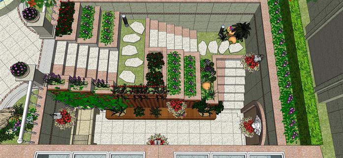 那么下沉式庭院景观设计的特点有哪些.