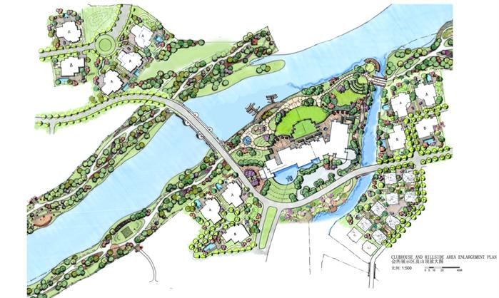 成都某现代风格滨水景观规划设计全套文本[原创]