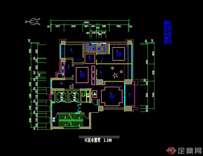 某现代风格居住空间建筑方案设计CAD图纸,方案设计的还是比较细致的,可以供广大景观设计人员,园林设计人员,建筑设计人员参考使用,叶可以用作同类项目参考使用。