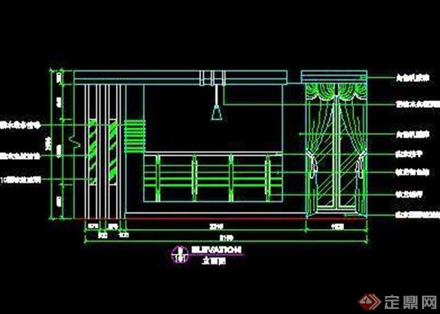 一套室内装修施工图 4