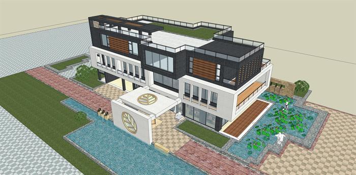 会所商业建筑商业楼商业街会所建筑商业楼建筑图片