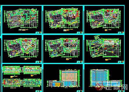 民房建筑设计图 现代展示