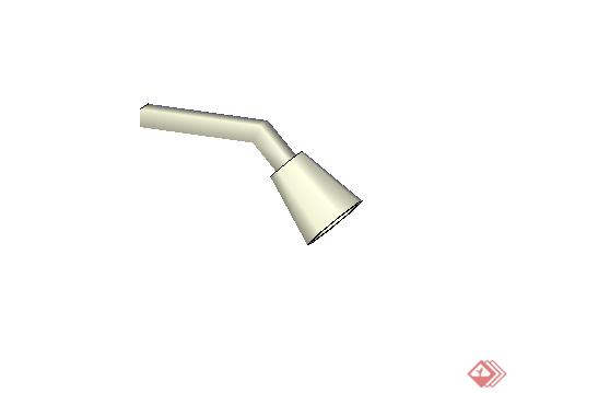 某现代风格厨卫淋浴头设计su模型(1)
