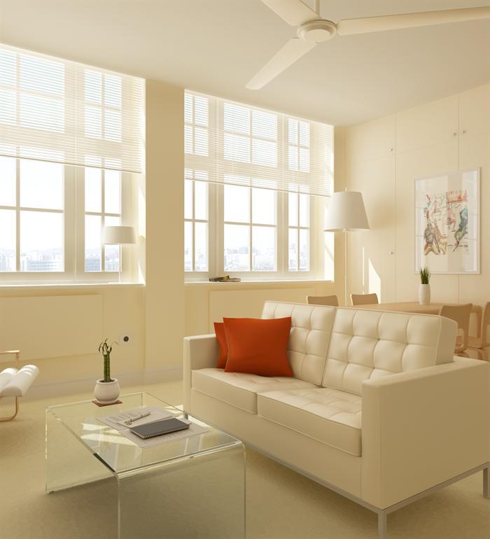 某现代风格一居室室内设计效果图 含3DMAX模型