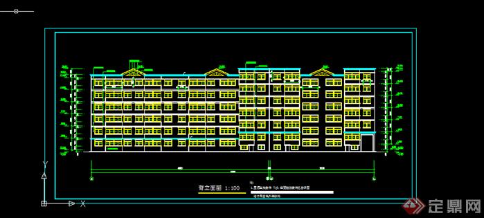 某现代风格全套多层住宅楼建筑施工图CAD图纸