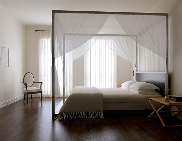 某简欧风格室内卧室设计方案3dmax模型(含效果图)