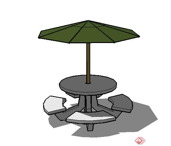 太阳伞小品雕塑小品雕塑小品素材小品雕塑