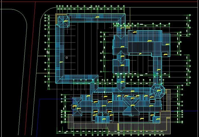 某欧式会所建筑设计su模型(含cad方案+效果图)[原创]