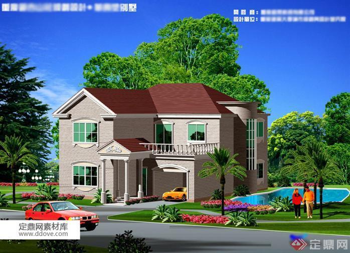 某现代风格农村自建别墅建筑设计扩初方案(5)