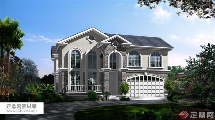 某新农村自建多层别墅建筑设计方案18