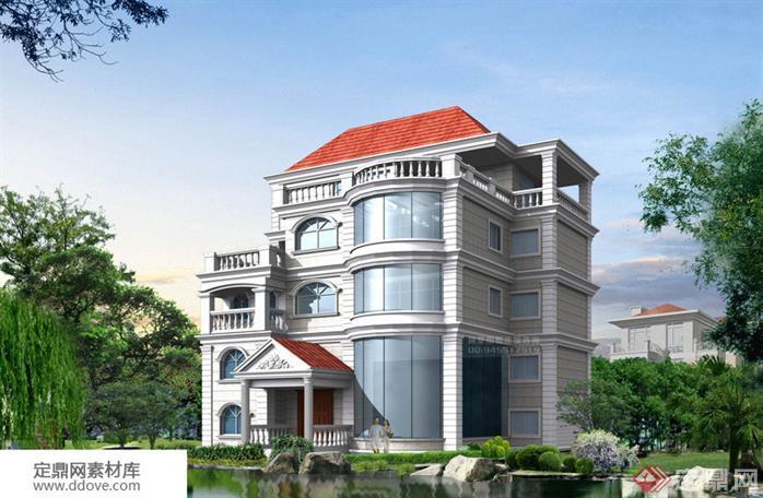 某新农村自建多层别墅建筑设计方案图18