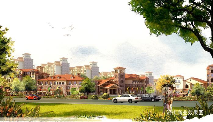 重庆市某方案住宅小区建筑设计滨湖[反思]我的v方案桥原创图片