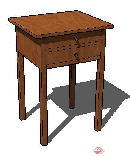 设计素材之家具 桌子设计方案su模型3