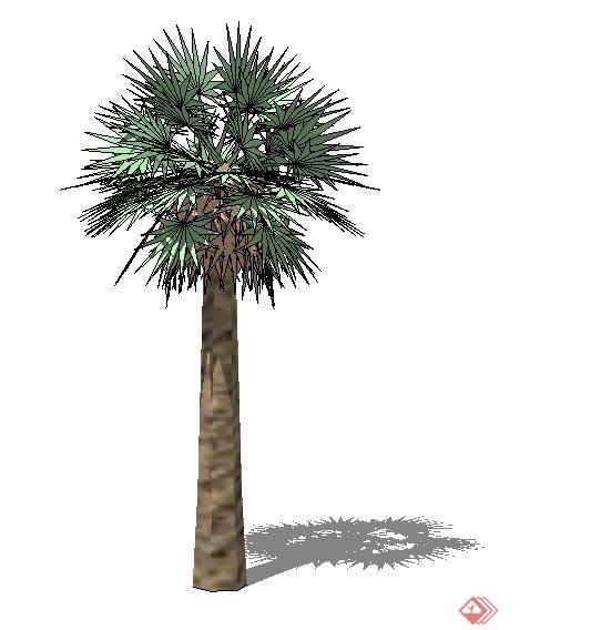 模型制作精致,树木树形美观自然,具有很好的素材应用价值.