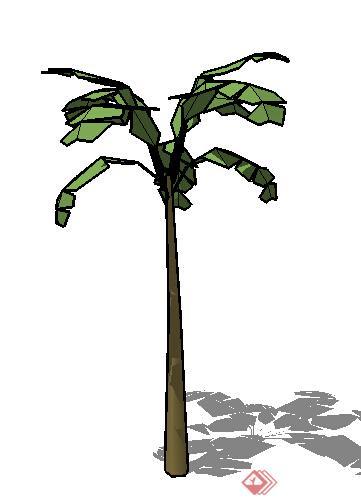 设计素材之景观植物乔木设计素材su模型55