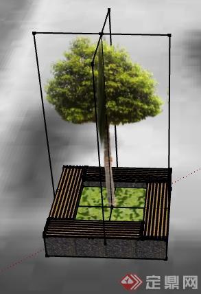 长方形花坛设计图手绘展示