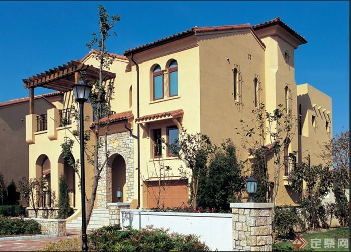 多个地中海风格住宅建筑设计方案 含实景图图片