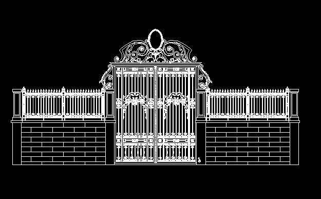 多个欧式大门景观设计方案图[原创]