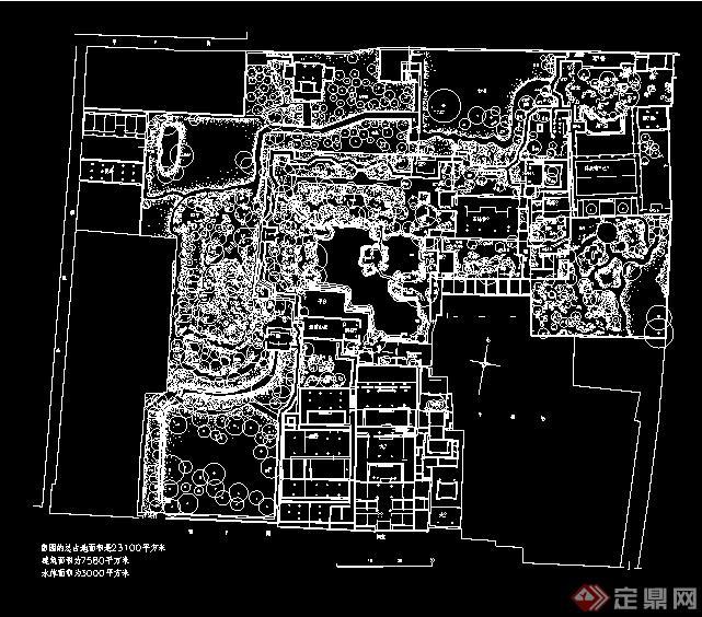 苏州留园总平面图