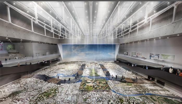 某市城市规划展览馆核心区概念规划设计方案