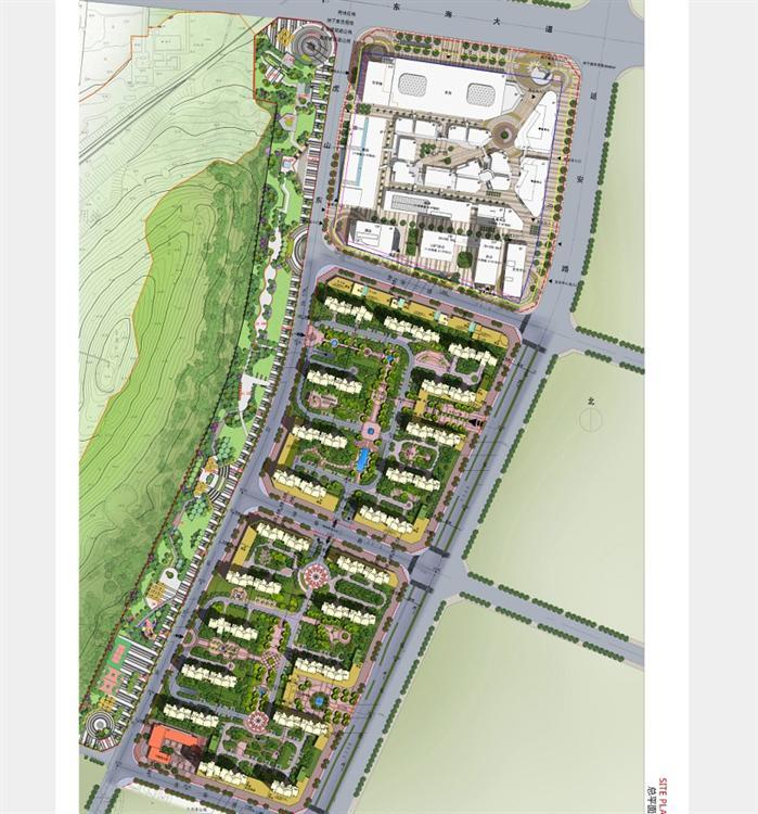 某商业办公住宅整体规划方案设计文本 1 高清图片